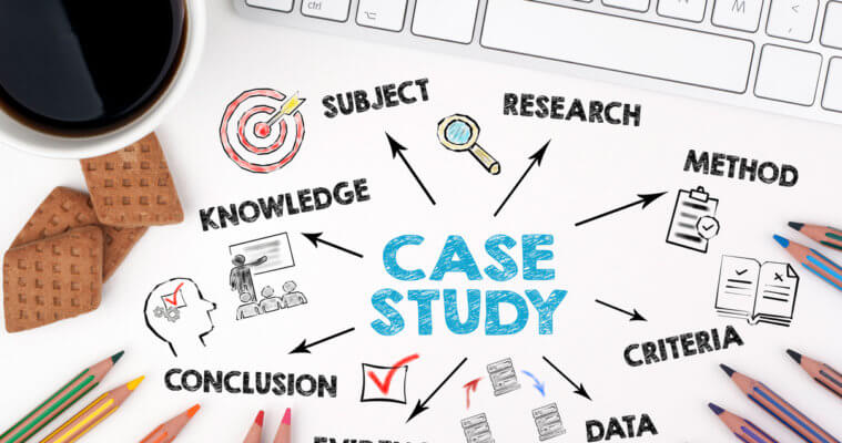 ung dung cua case study